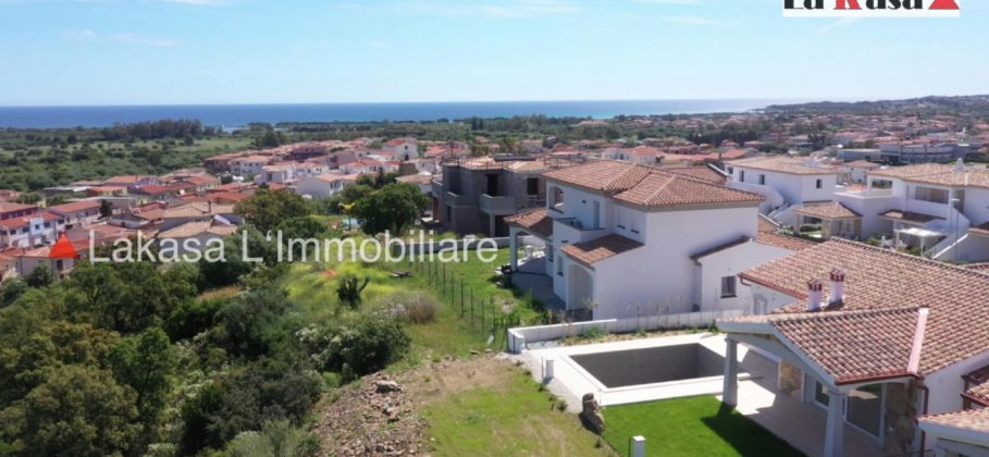 SOLD 15980 Cityhouse in Budoni with seaview