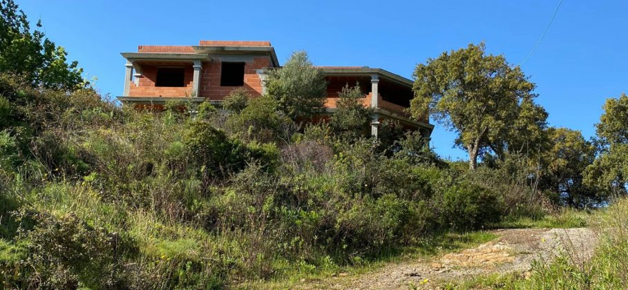 15187 house under costruction with sea view
